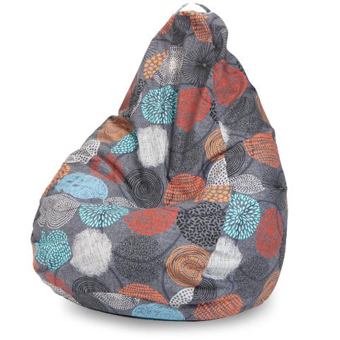 Внешний чехол Кресло-мешок груша  XL, Жаккард Рингс