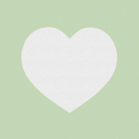 Сердце из пенопласта.