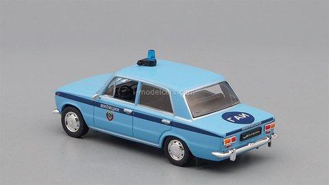 VAZ-2101 Lada Zhiguli GAI blue 1:43 DeAgostini Auto Legends USSR Police #5