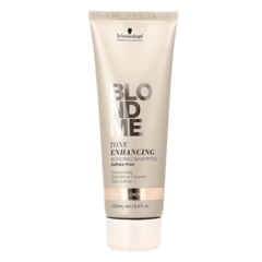 Schwarzkopf Blondme Enhancing Bonding Shampoo Warm - Бондинг-шампунь для поддержания теплых оттенков блонд