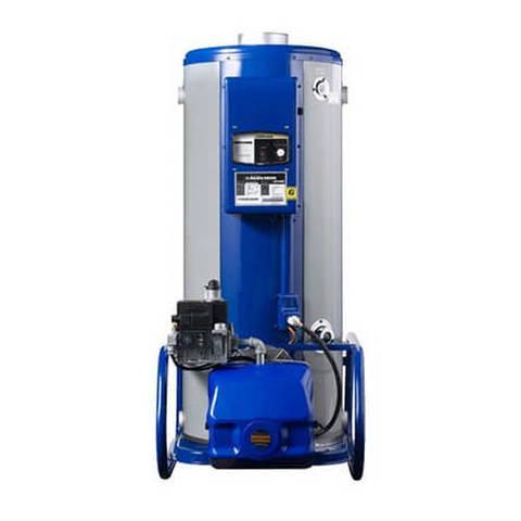 Котел газовый напольный Navien 2035GPD - 233 кВт (двухконтурный, открытая камера сгорания)