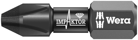 Насадка PH 3x25 851/1 IMP Wera DC Impaktor
