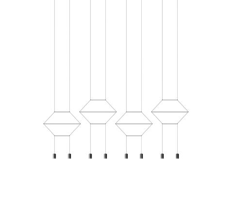 Потолочный светильник копия Wireflow 0334 by Vibia