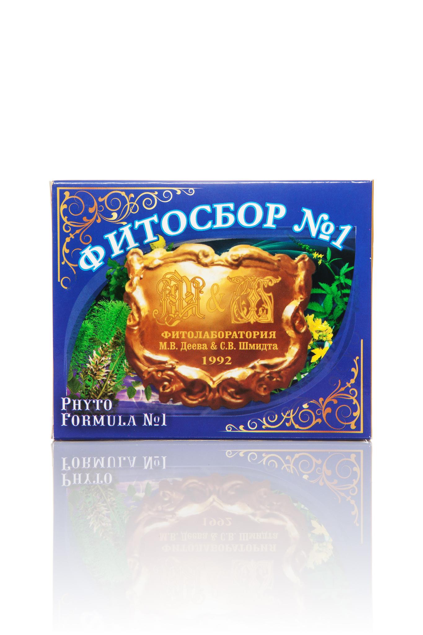 Антипсориаз Фитосбор №1 20 г.