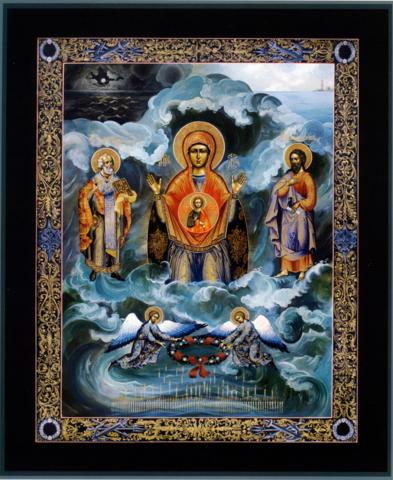 Икона Божией Матери Знамение Морская Курская