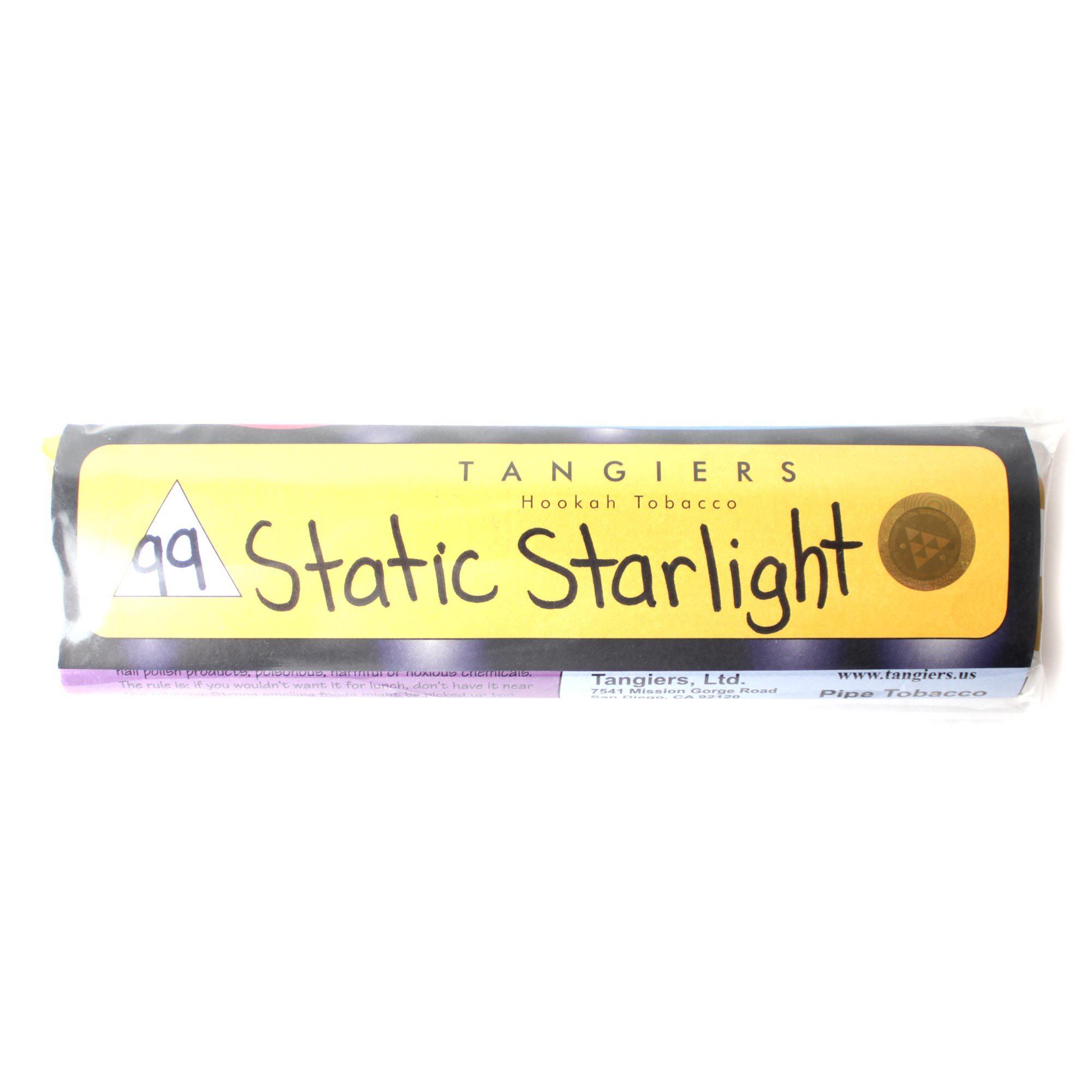 Табак для кальяна Tangiers Noir (желтый) 99 Static Starlignt 250 гр