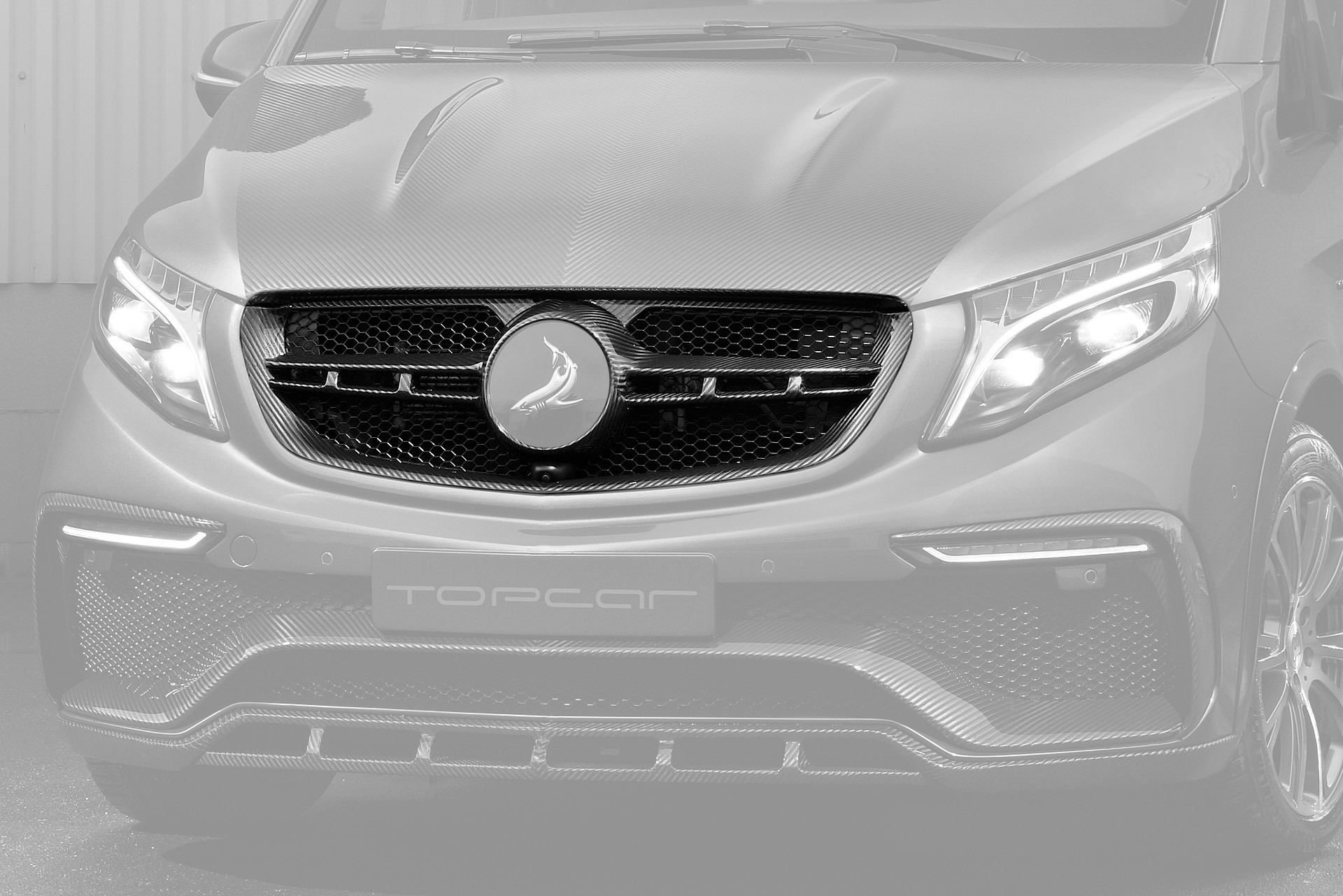 Обвес Topcar Design для Mercedes V-class