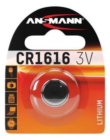 Батарейка литиевая CR1616 ANSMANN 3V