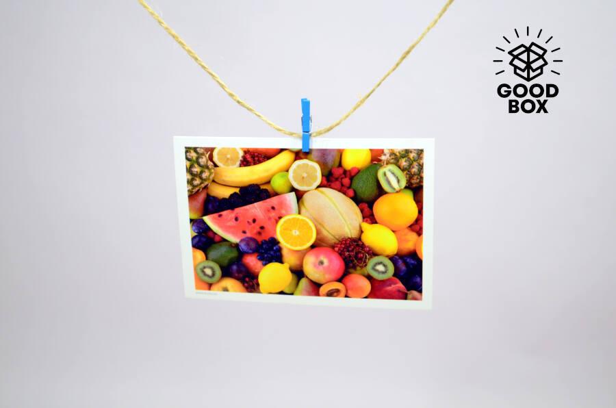 Открытка с фруктами купить недорого
