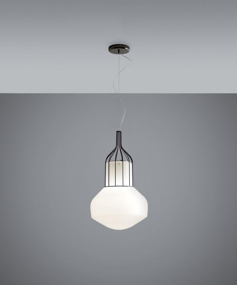 Подвесной светильник копия AEROSTAT mini by Fabbian (золотой)
