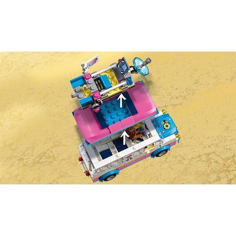 LEGO Friends: Передвижная научная лаборатория Оливии 41333 — Olivia's Mission Vehicle — Лего Френдз Друзья Подружки