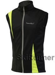 Детский лыжный жилет Nordski Active Black-Lime