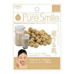 Sunsmile Face Mask With Soya Bean Extract - Маска для лица с экстрактом соевых бобов