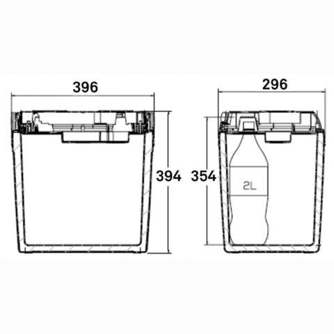Автохолодильник Dometic Coolfun, 25 л., охл., пит. (12/24V)