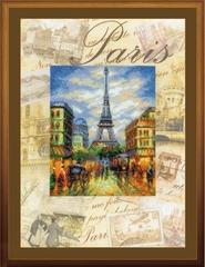 Набор для вышивания Riolis Города мира. Париж