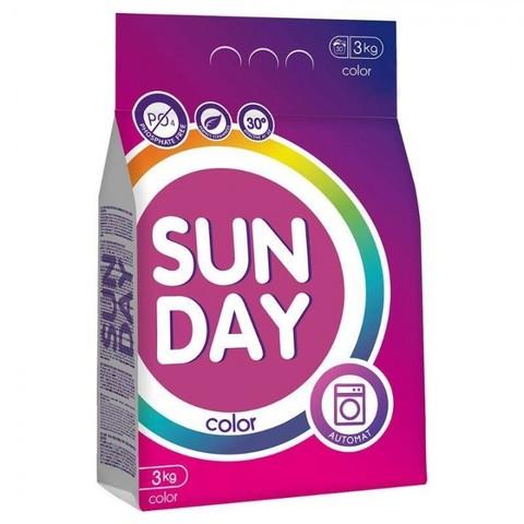 Сонца Sunday Стиральный порошок для цветного  Автомат 3 кг