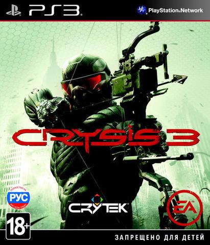 PS3 Crysis 3 (русская версия)