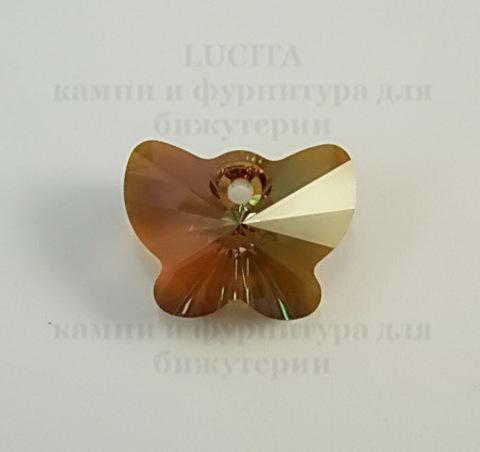 6754 Подвеска Сваровски Бабочка Crystal Copper (18 мм) ()