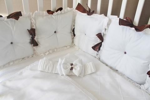 Комплект в кроватку Зефиринка