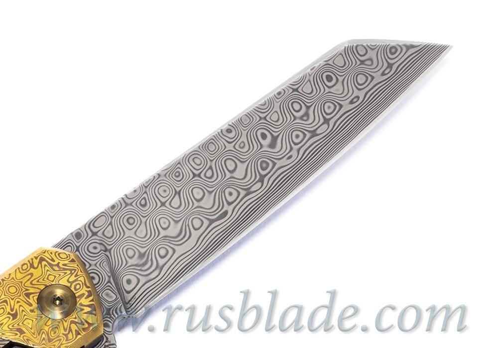 Cheburkov Full Custom Dragon Damascus Mokume One-Off