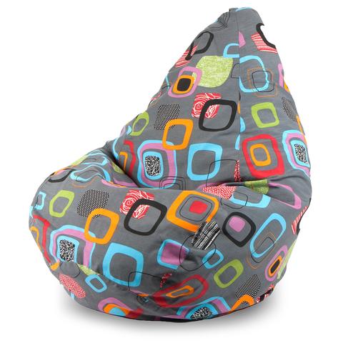 Внешний чехол Кресло-мешок груша  XL, Жаккард Мумбо