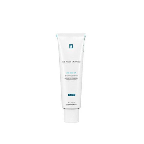 Крем TOSOWOONG SOS Repair Cica Clinic Zinc 10% Cream 50g