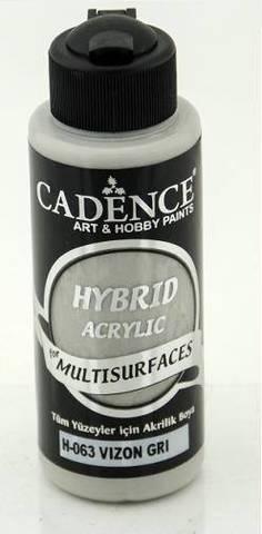 №63 Hybrid Acrylic, Серый, 70мл., Cadence