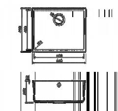 Схема Omoikiri Bosen 54-U-BL