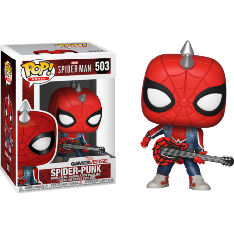 Фигурка Funko Pop! Games: Marvel - Spider-Man - Spider-Punk (Excl. to Previews)