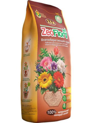 Влагосберегающий грунт универсальный 2.5 л ZeoFlora