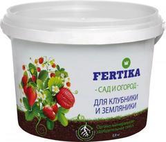 Fertika для клубники и земляники удобрение. 0,9 кг