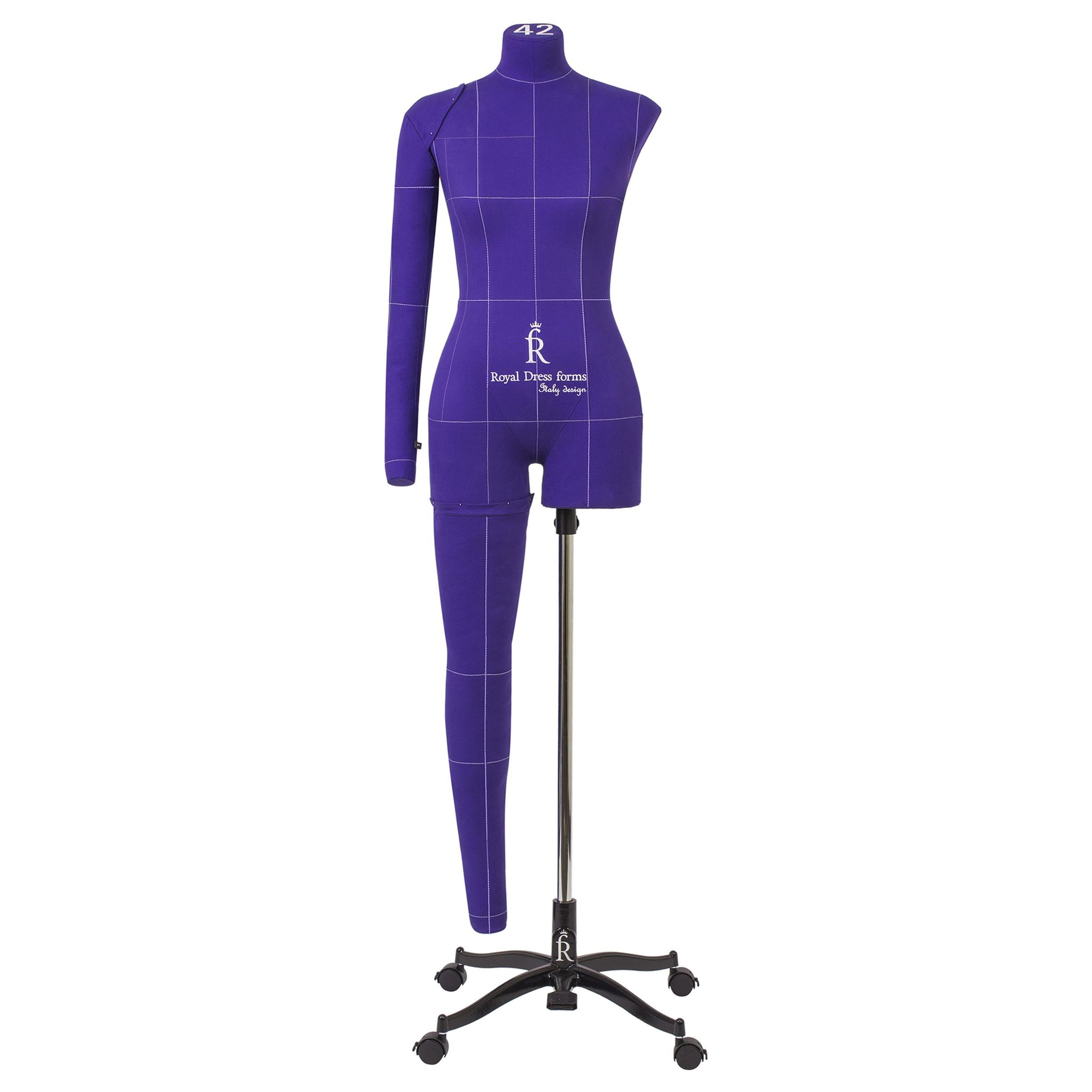 Манекен портновский Моника Арт, фиолетовый, 50 размер