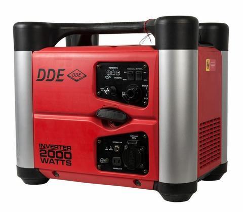 Генератор бензиновый инверторного типа DDE DPG2051Si однофазн.ном/макс. 1600/2000 Вт ( т/бак 3,8л,вых 12В,  шум/изол, 24кг)