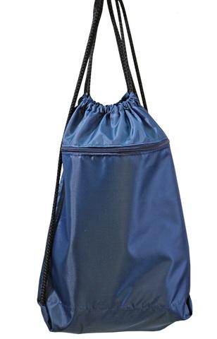 Мешок детский для обуви синий