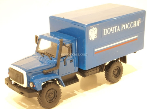GAZ-3308 Sadko Russian Post Kompanion 1:43