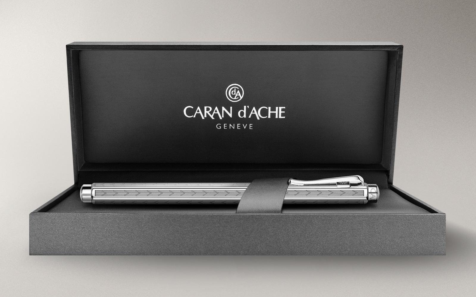 Carandache Ecridor - Chevron PC, шариковая ручка, F