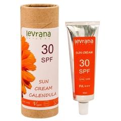 Солнцезащитный крем для тела Календула, SPF30, 50ml TМ Levrana