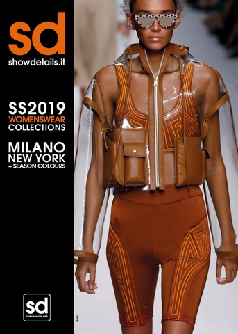 Журнал мод. SHOWDETAILS (Милан, Нью-Йорк) весна-лето 2019г.