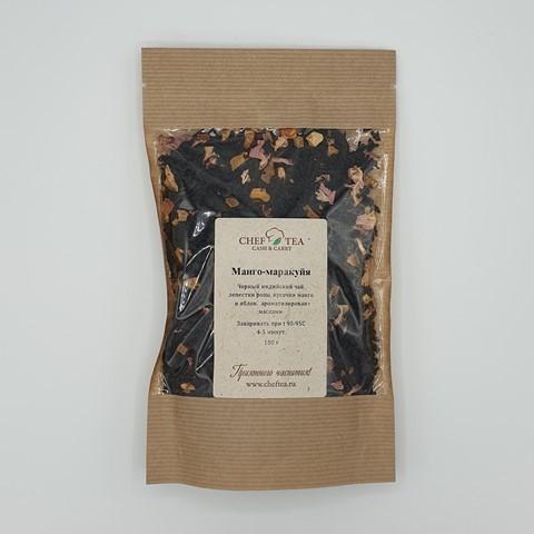 Черный чай Манго-Маракуйя CHEF TEA, 100 гр