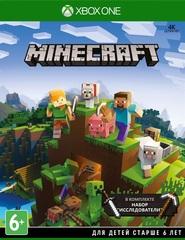 Xbox One Minecraft Starter Collection (44Z-00126) (+700 Minecoins, русская версия)