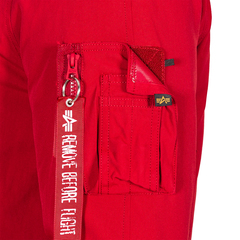 Парка Alpha Industries N-3B Down Parka Commander Red (красная)