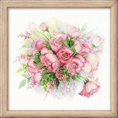 Набор для вышивания Riolis Акварельные розы