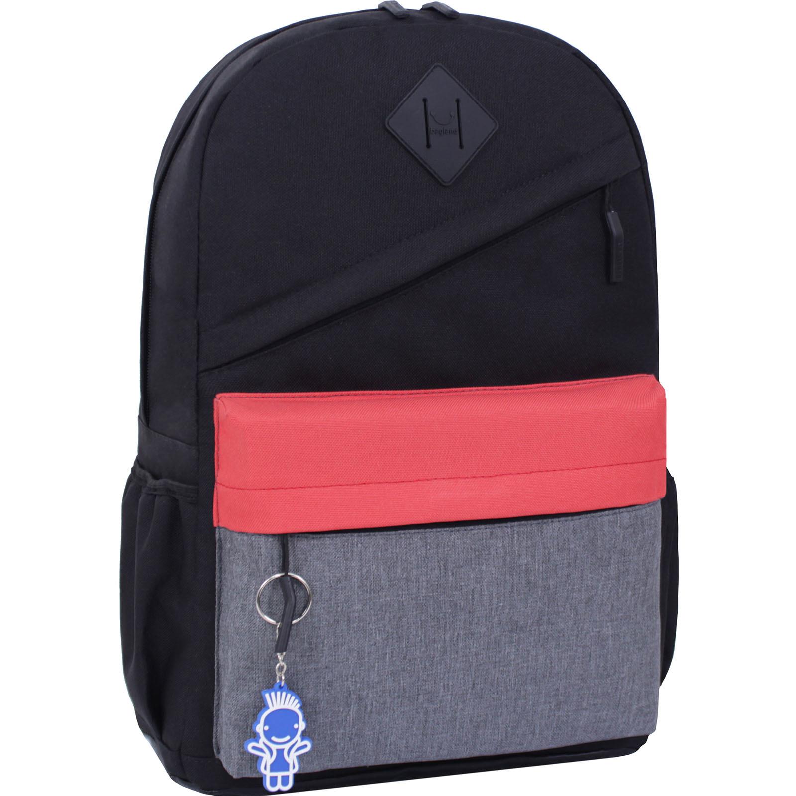 Мужские рюкзаки Рюкзак Bagland Fire 19л. черный/красный (0014466) IMG_3209.JPG