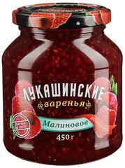 """Варенье """"Лукашинские"""" малиновое домашнее ГОСТ ст/б 450г"""