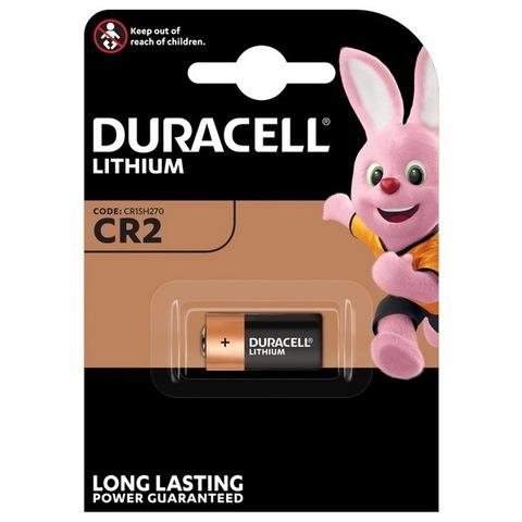 Батарейки Duracell Lithium CR2, 3V (2/20) BL