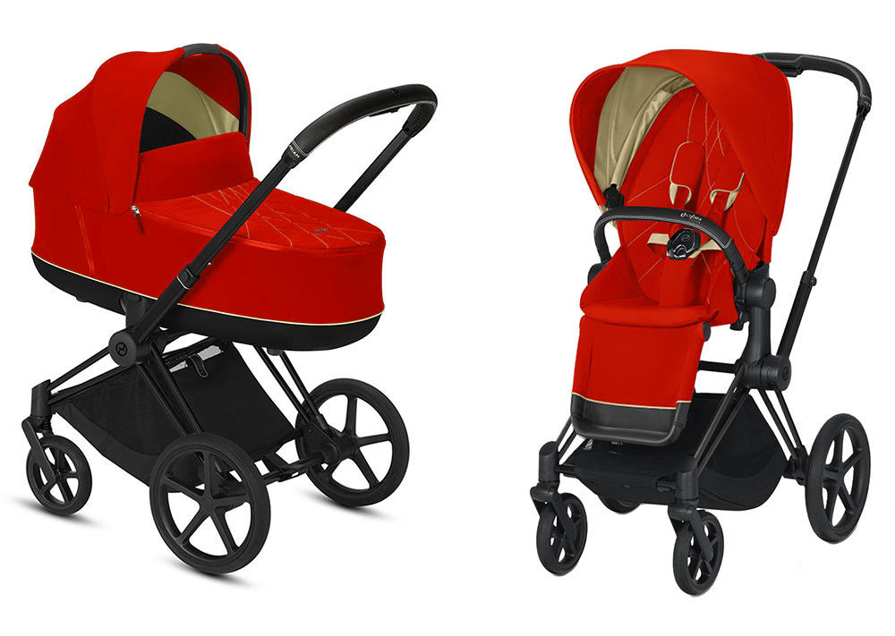 Cybex Priam III 2 в 1 - 2020 Детская коляска Cybex Priam III 2 в 1 Autumn Gold Matt Black cybex-priam-iii-2-in-1-2020-autumn-gold-matt-black.jpg