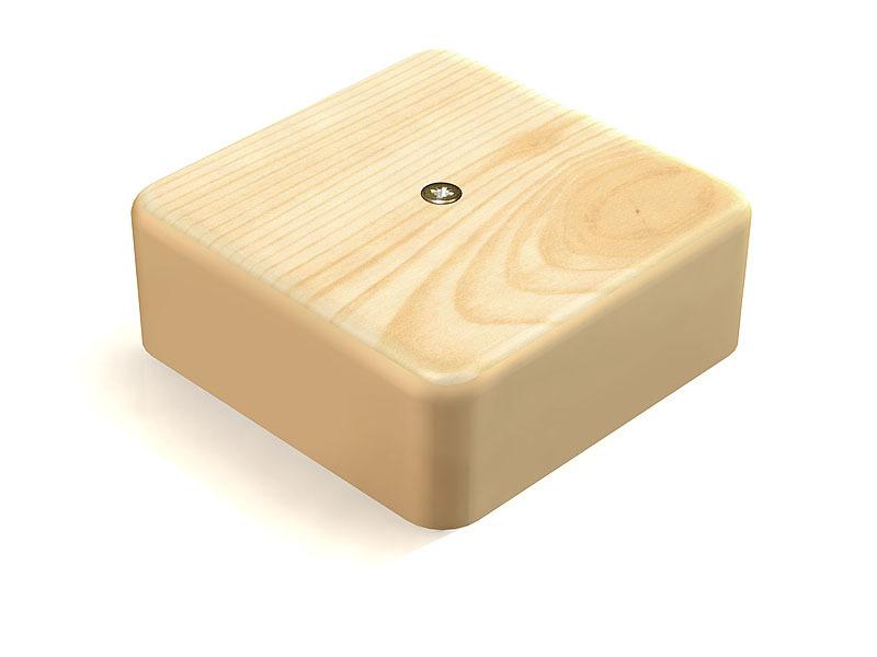 Коробка распаячная КР 100х100х44 ОП сосна IP40, инд. штрихкод TDM