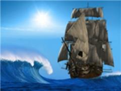 Картина раскраска по номерам 40x50 Корабль в шторме