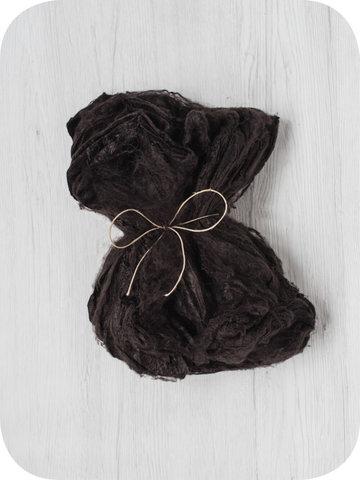 Шелковые платки для валяния. Кофе