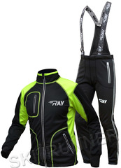 Утеплённый лыжный костюм RAY STAR Tour WS Black мужской